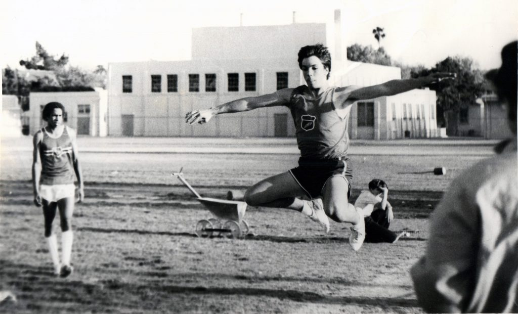 Triple Jump at North Hollywood High School 1984
