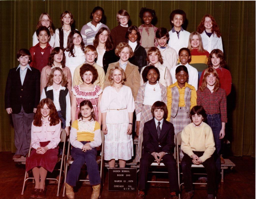 Ogden Elementary School Chicago 1979