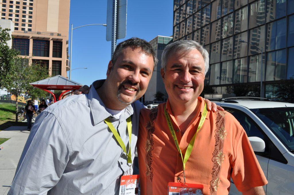 with Leo Laporte at SXSW