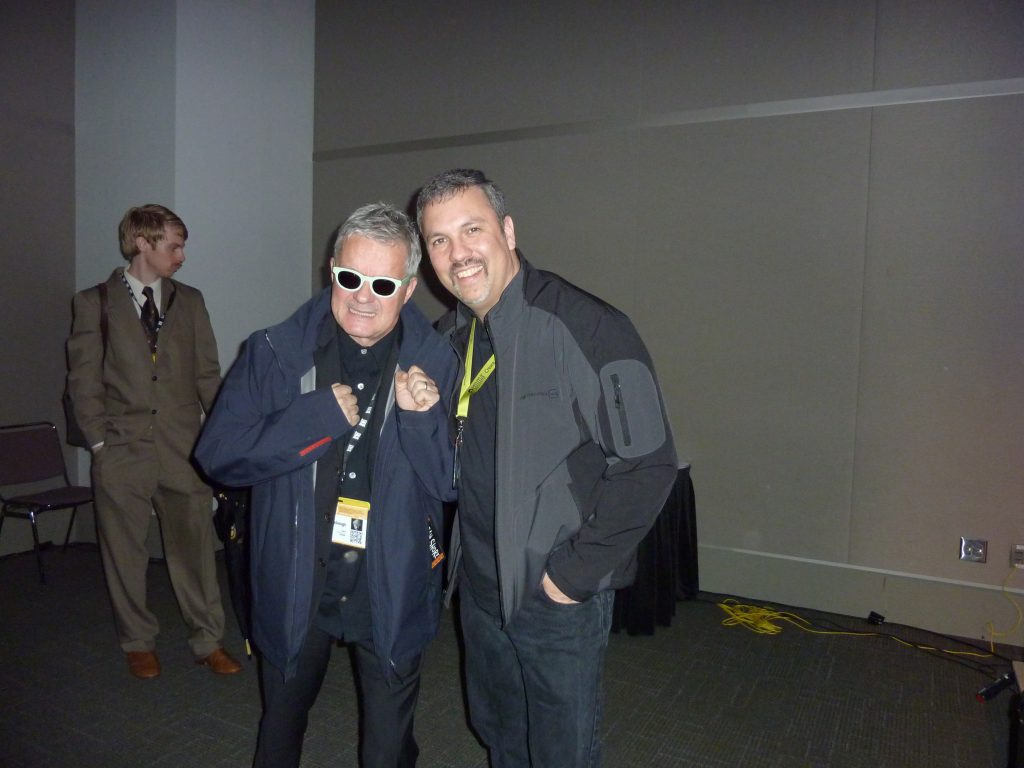with Mark Mothersbaugh at SXSW