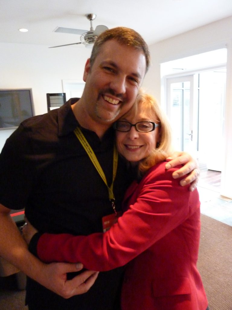 with Nina Hartley at SXSW