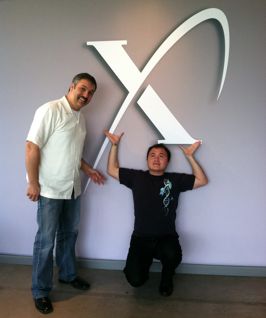 with Ben Parr at XPRIZE