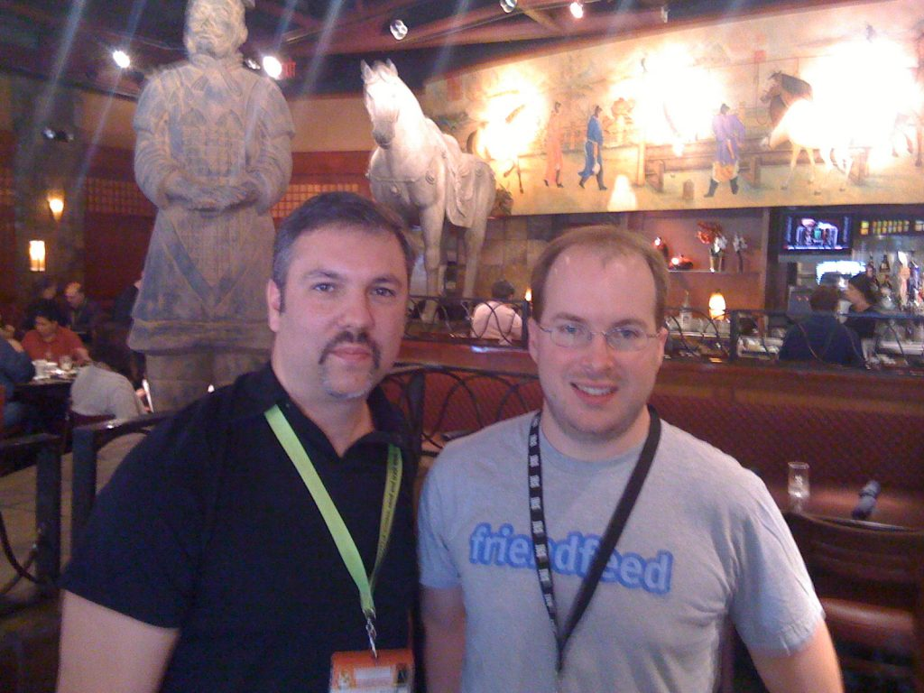 with Paul Bucheit at SXSW 2009